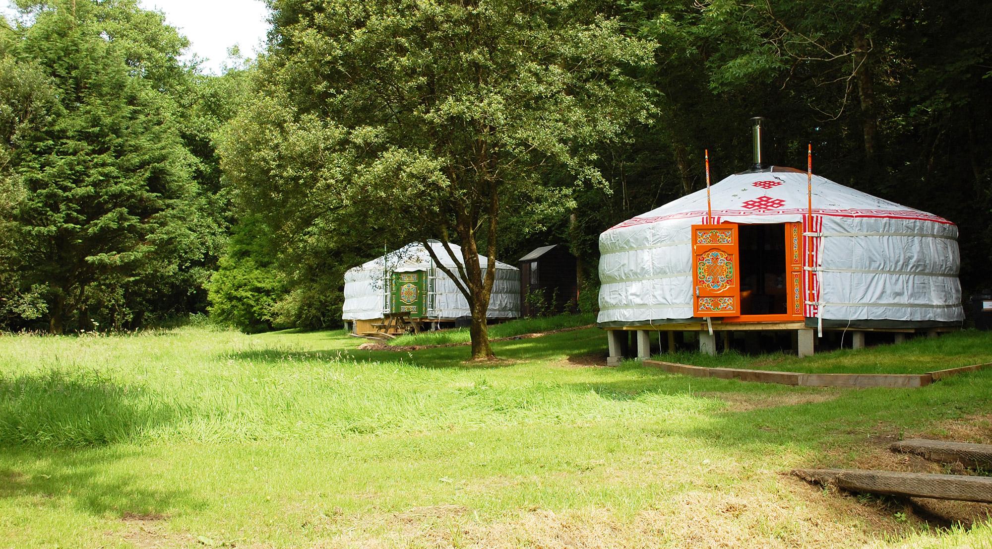 Pembrokeshire Yurts at Wellstone Yurts